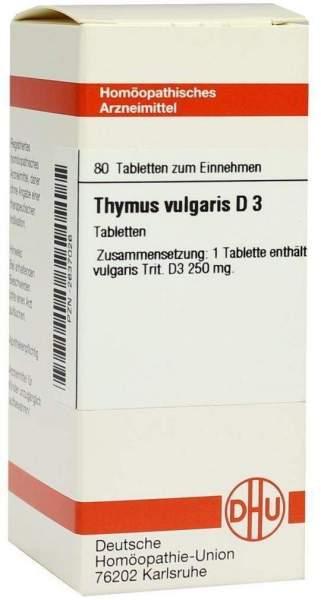 Thymus Vulg. D 3 Tabletten