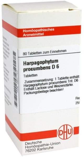 Harpagophytum Procumbens D6 Dhu 80 Tabletten