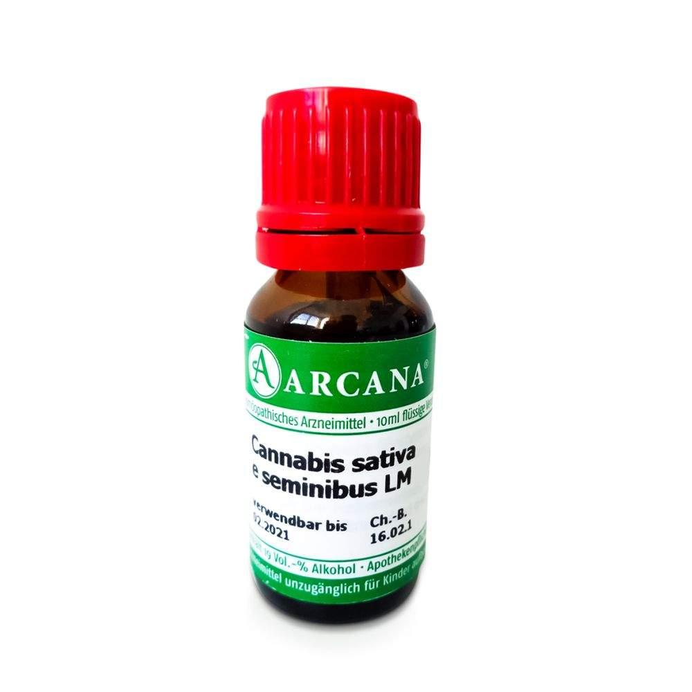 Cannabis Sativa E Seminibus Lm 1 Dilution