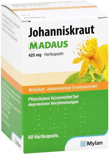 JOHANNISKRAUT MADAUS 425 mg Hartkapseln