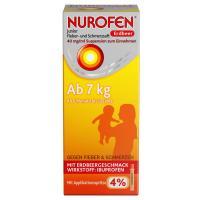 Nurofen Junior Fieber- & Schmerzsaft Erdbeer 40mg pro ml 100ml