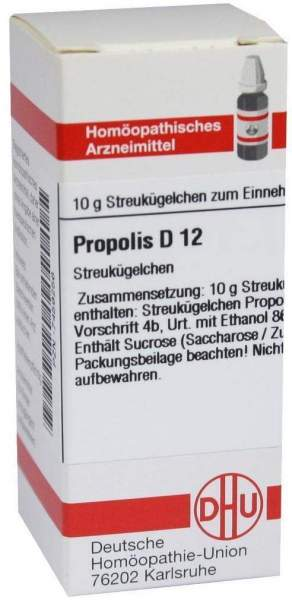 Propolis D12 Dhu 10 G Globuli