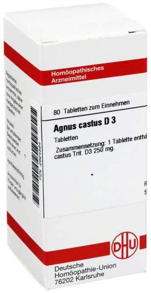 Agnus Castus D3 80 Tabletten