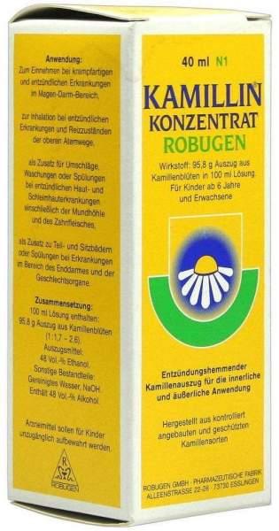 Kamillin Konzentrat Robugen 40 ml Lösung