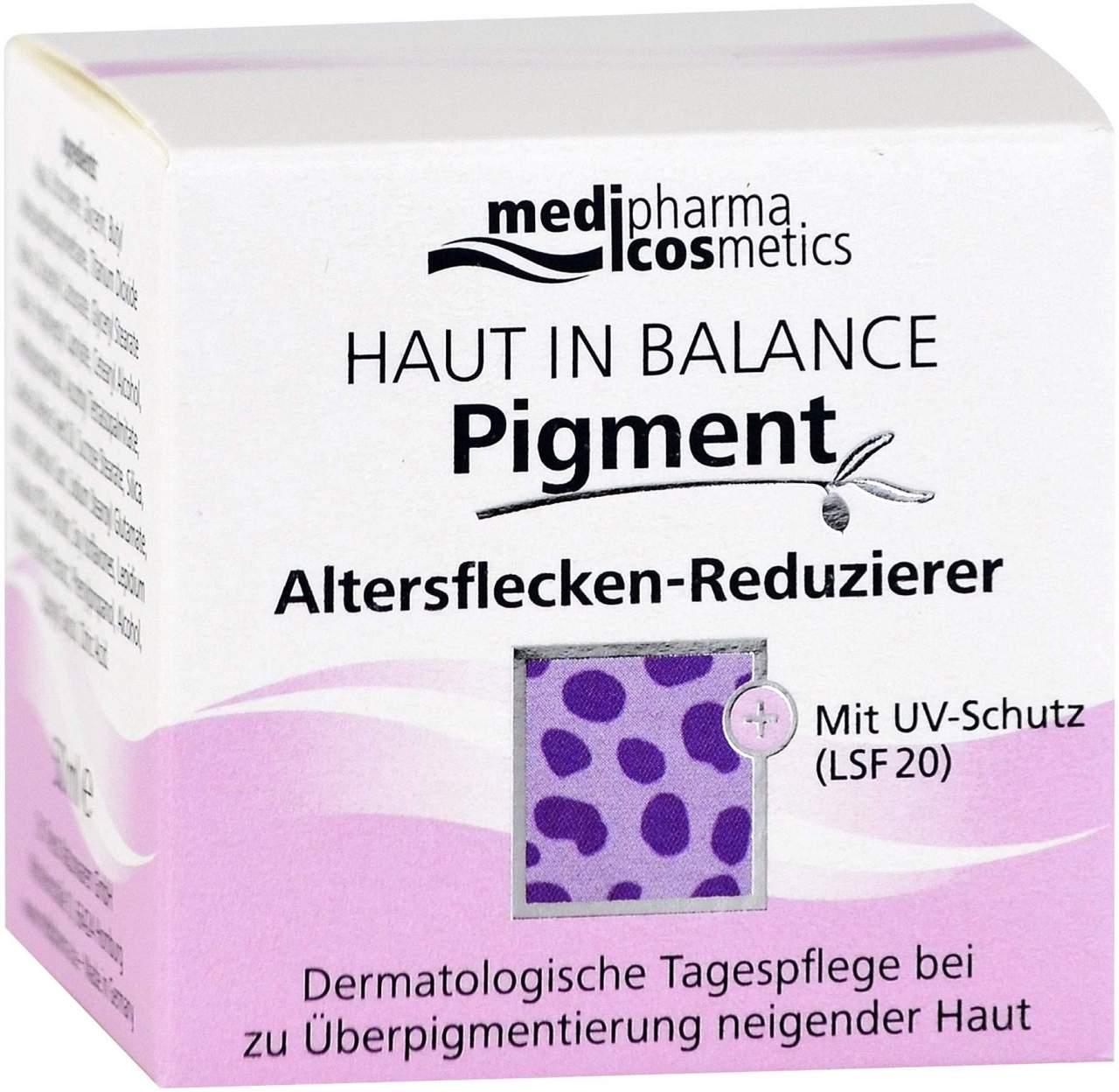 Haut in Balance Pigment Altersflecken Reduziercreme 50 ml Creme