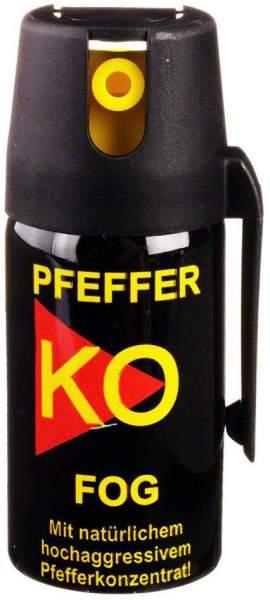 Pfeffer K.O. Spray Fog 40 ml Verteidigungsspray