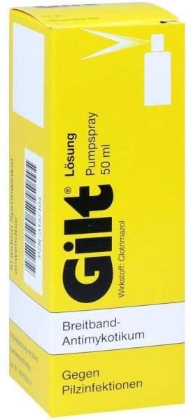 Gilt Lösung 50 ml Pumpspray