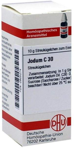 Jodum C 30 Globuli