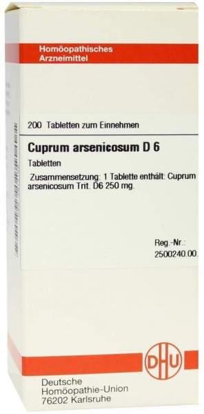 Cuprum Arsenicosum D6 200 Tabletten