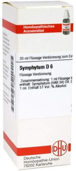 Symphytum D6 Dilution 20 ml Dilution