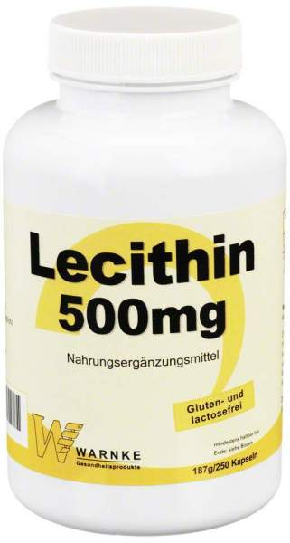 Lecithin 500 mg 250 Kapseln