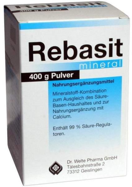 Rebasit Mineral Pulver 400 G Pulver
