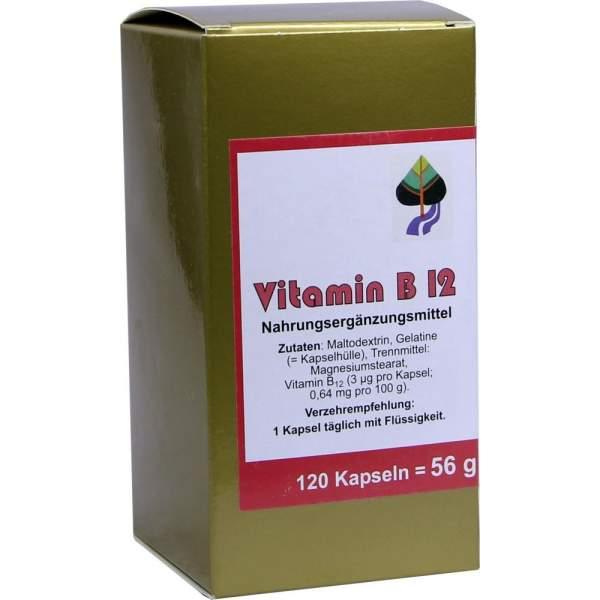 Vitamin B12 Kapseln 120 Kapseln