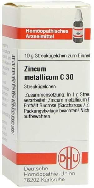 Zincum Metallicum C30 10 G Globuli