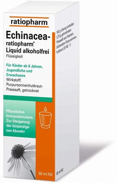 Echinacea Ratiopharm Liquid Alkoholfrei 50 ml