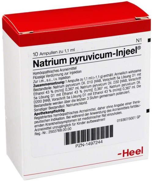 Natrium Pyruvic. Injeele