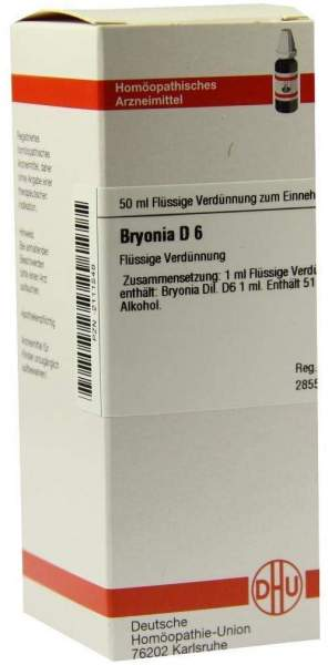 Bryonia D 6 50 ml Dilution
