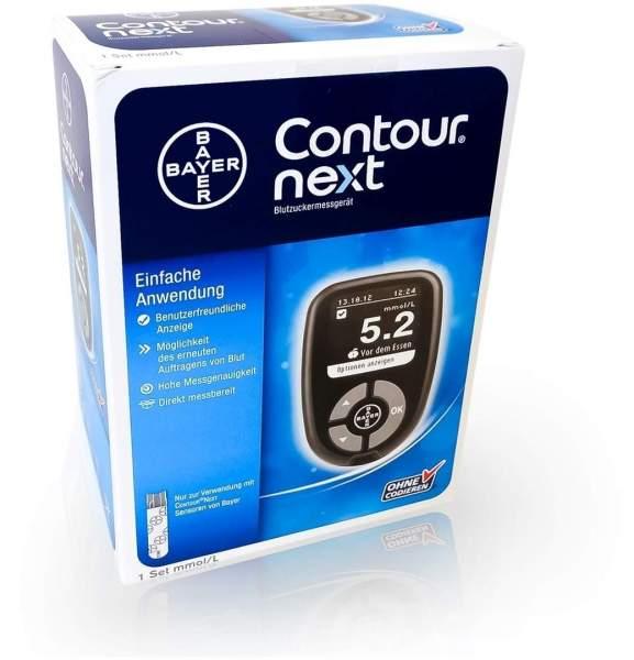 Contour Next Blutzuckermessgerät 1 Set