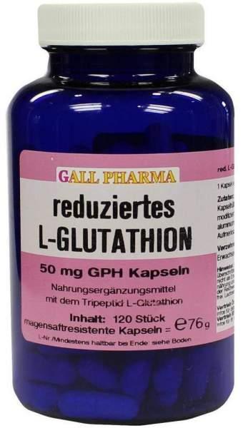Glutathion Reduziert 50 mg 120 Kapseln
