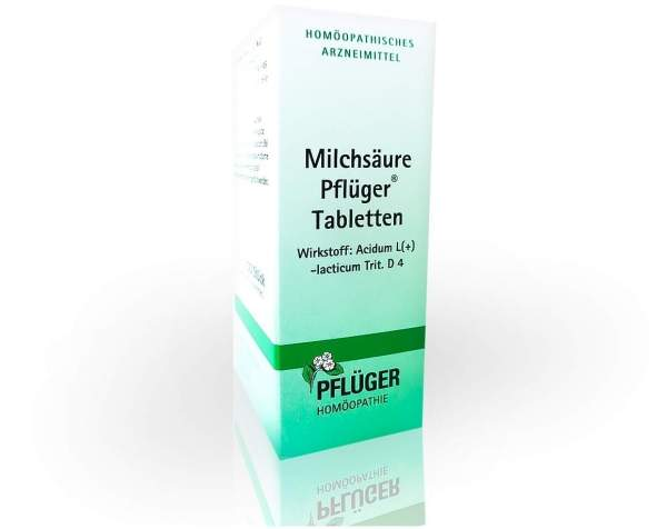 Milchsäure Pflüger 100 Tabletten
