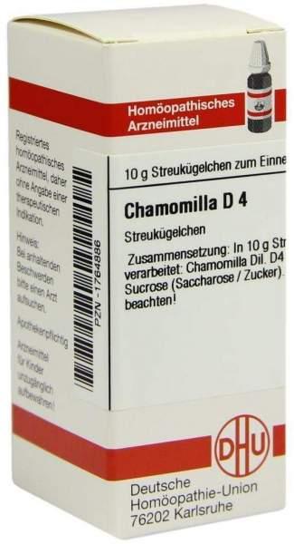 Dhu Chamomilla D4 Globuli
