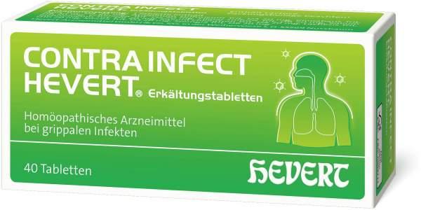 Contrainfect Hevert 40 Erkältungstabletten