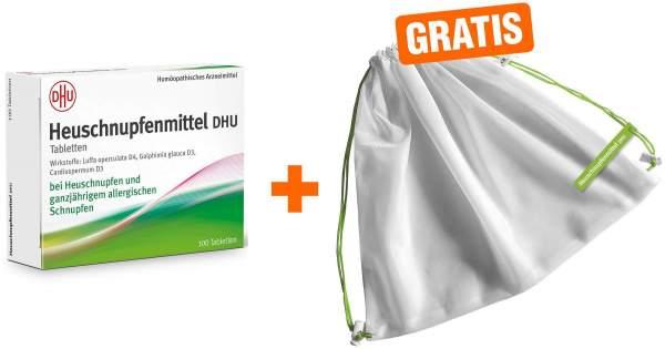 Heuschnupfenmittel DHU 100 Tabletten + gratis Obst- und Gemüsenetz