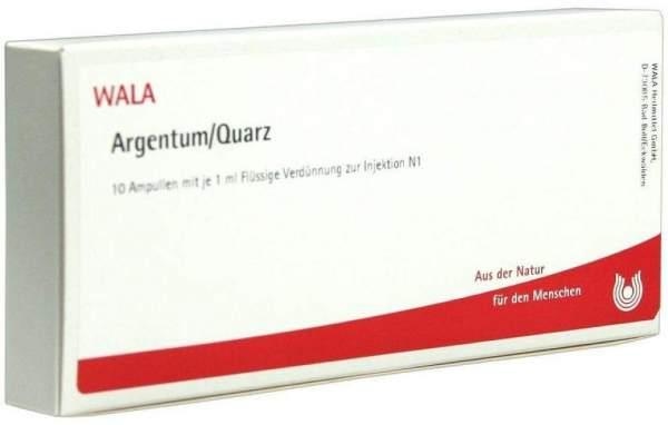 Argentum-Quarz Ampullen 10 X 1 ml