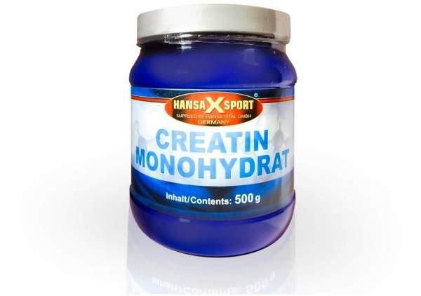 Creatin Monohydrat 500 G Pulver