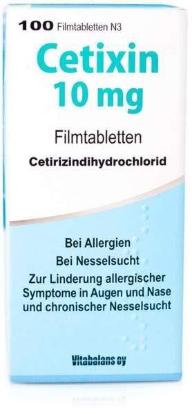Cetixin 10 mg 100 Filmtabletten