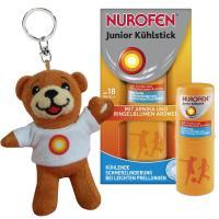 Nurofen Junior Kühlstick 14 ml Stift + gratis Nurobär Schlüsselanhänger