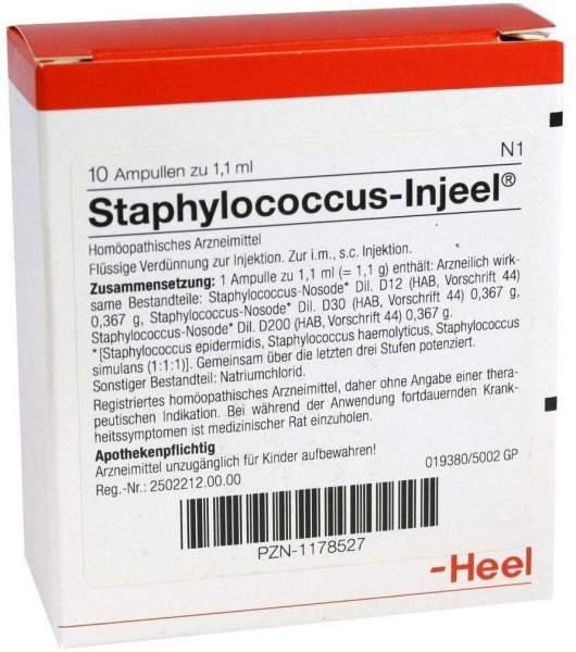 Staphylococcus Injeel 10 Ampullen
