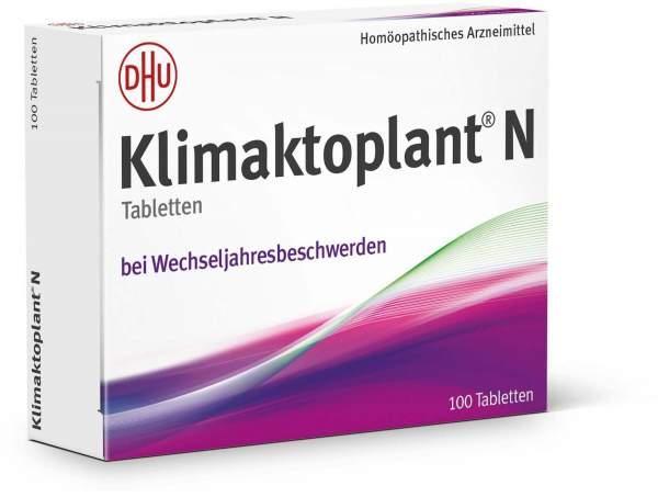 Klimaktoplant N 100 Tabletten