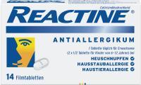 Reactine Allergietabletten 14 Stück