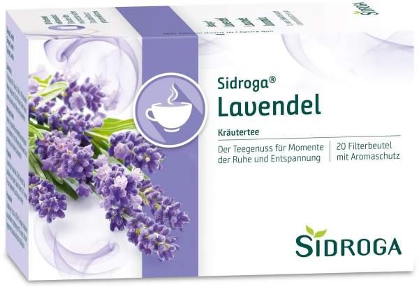 Sidroga Lavendel 20 Filterbeutel