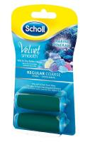 Scholl Velvet Smooth Pedi Wet & Dry 2 Ersatzrollen stark mit Meeresmineralien