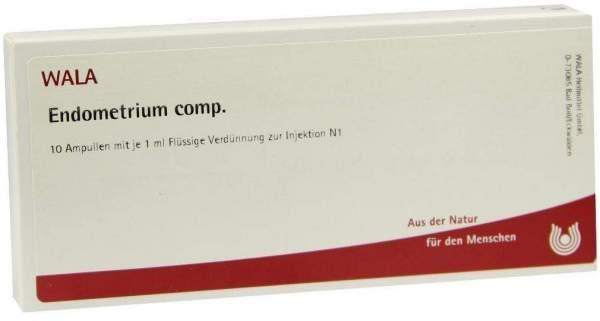 Endometrium Comp. Ampullen