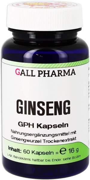 Ginseng Gph Kapseln