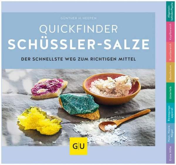 Quickfinder Schüßler-Salze GU Buch 1 Stück
