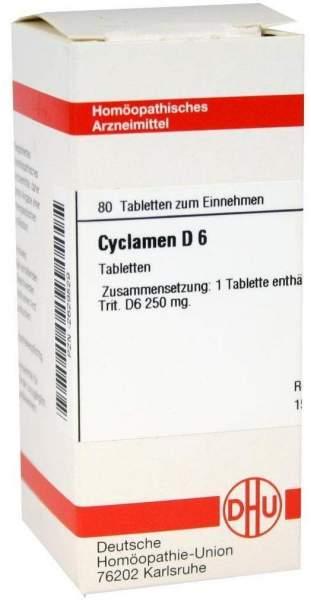 Cyclamen D 6 80 Tabletten