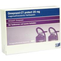 Omeprazol-Ct Protect 20 mg Hartkapseln Magensaftresistent