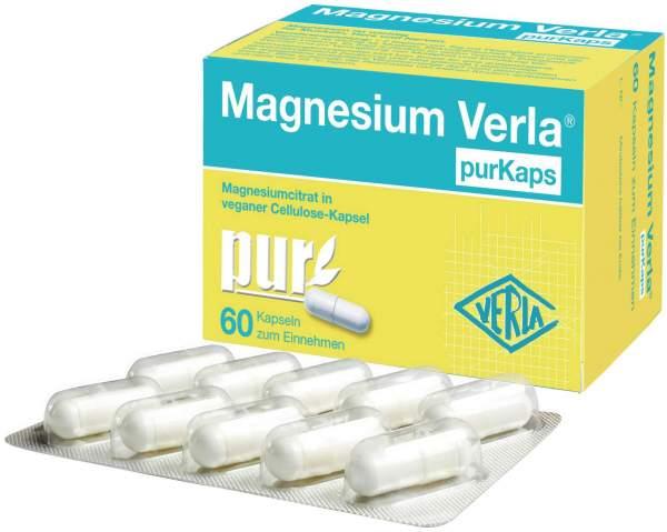 Magnesium Verla purkaps vegan 60 Kapseln