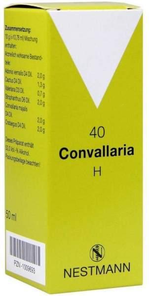 Convallaria H Nr. 40 50 ml Tropfen
