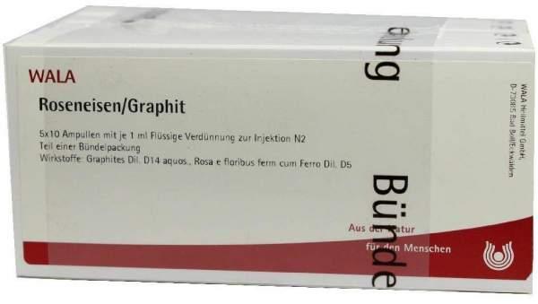 Roseneisen Graphit Ampullen 50 X 1 ml