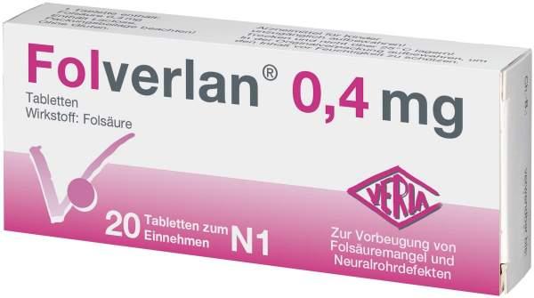Folverlan 0,4 mg Tabletten 20 Tabletten