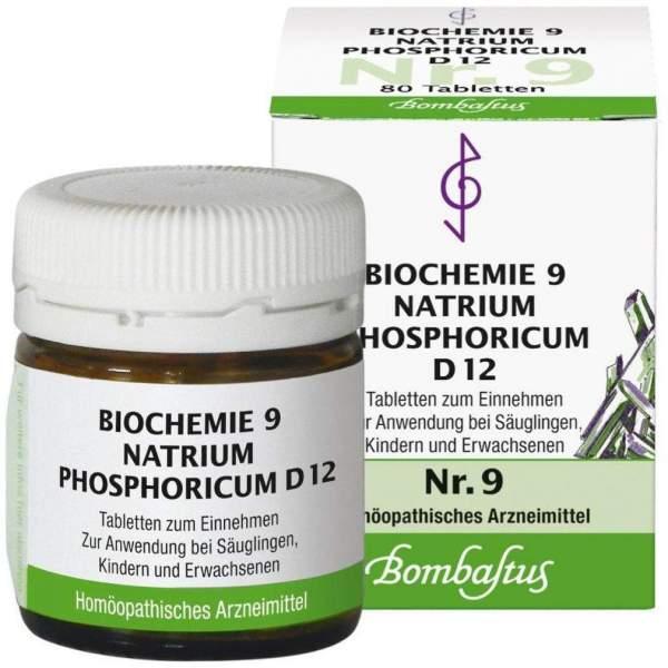 Biochemie 9 Natrium Phosphoricum D12 80 Tabletten