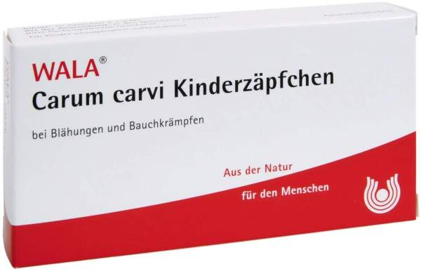 Carum Carvi Kinderzäpfchen Wala 10x1 g Kinder-Suppositorien