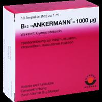 B12 Ankermann 1000 µg 10 x 1 ml Ampullen
