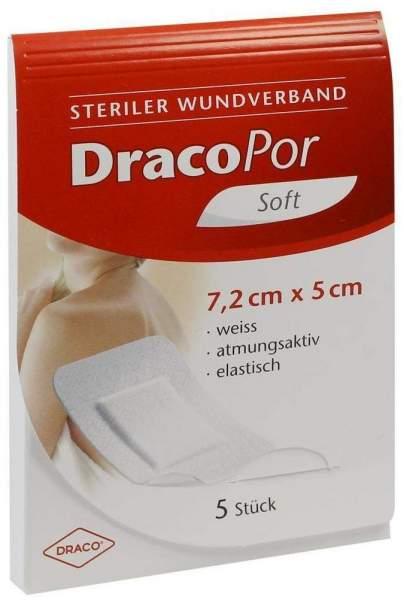 Dracopor Wundverband 7,2x5cm Steril 5 Stück