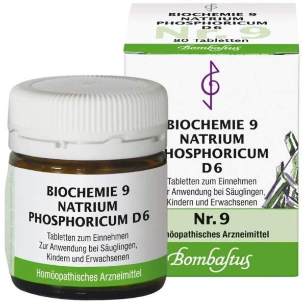 Biochemie Nr.9 Natrium Phosphoricum D6 80 Tabletten